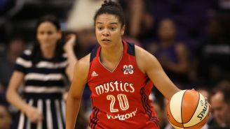 Kristi Toliver Gave The Mystics A Win With A Cold-Blooded Last Second Turnaround Jumper