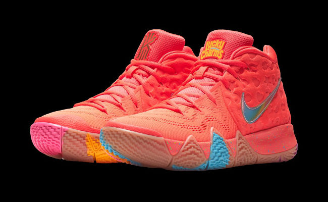 pink kyrie 4s