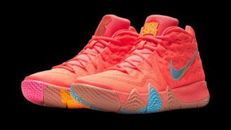 Nike Will Release A 'Cereal' Pack Of Kyrie 4s Inspired By Kix, Lucky Charms, And Cinnamon Toast Crunch