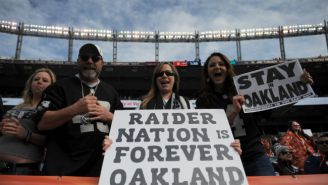 The City Of Oakland Said No To Putting An XFL Expansion Team In The Bay Area