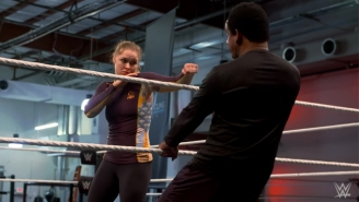 Ronda Rousey Is Training Hard For SummerSlam And Whatever Comes After