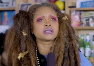 Erykah Badu Brings Timeless, Spiritual Vibes To Her Mystical Tiny Desk Concert