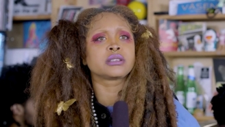 Erykah Badu Brings Timeless, Spiritual Vibes To Her Mystical Tiny Desk Concert