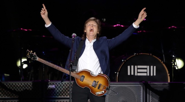 Paul McCartney Just Wants To 'Fuh You' In His New Uplifting Single