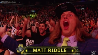 Bro, Matt Riddle Showed Up In The Crowd At NXT TakeOver: Brooklyn 4 In Flip-Flops