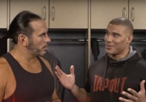 Matt Hardy And Jason Jordan Reportedly Worked Backstage At Monday Night Raw