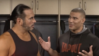 Matt Hardy And Jason Jordan Reportedly Worked Backstage At Monday Night Raw