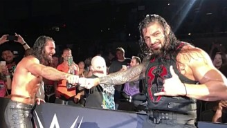 Seth Rollins And Roman Reigns Made A Special Needs Fan An Honorary Shield Member