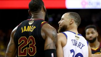 Steph Curry Revealed The Trash Talk He Exchanged With LeBron James During Game 1 Of The Finals