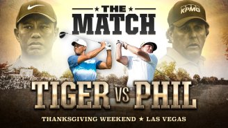 Tiger Woods And Phil Mickelson's $9 Million Match Is Officially Happening