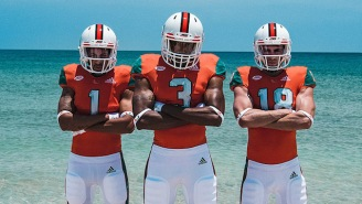 Miami Football Has New Adidas Uniforms Made From Recycled Ocean Waste