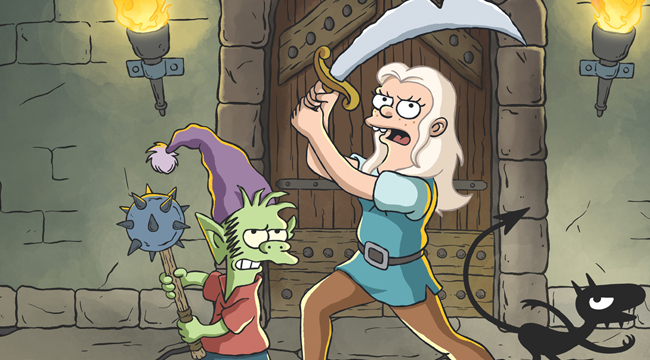 TV Review: Matt Groenings Disenchantment is just plain