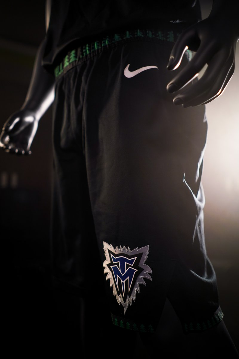 huge selection of 4ba2c c3603 The Timberwolves Will Wear Classic Black Throwback Uniforms ...
