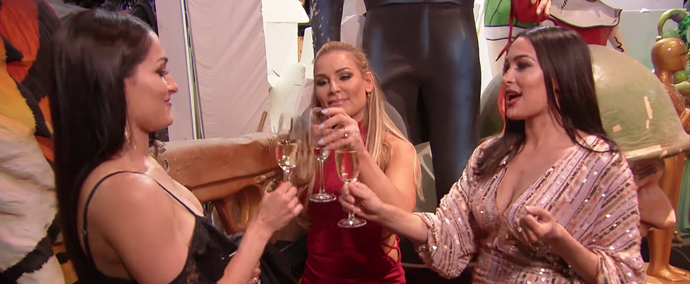 Natalya and the Bella Twins