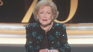 Betty White Was Honored At The Emmy Awards To A Standing Ovation