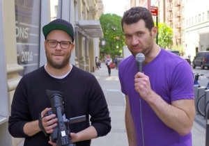Billy Eichner Is Bringing Back The Purple Shirt With A New 'Billy On The Street' Web Series