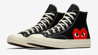 The Converse And Comme des Garçons Collaboration Is Back (For A Limited Time)