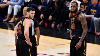 Larry Nance Jr. Thinks The Lakers Can Contend Because 'With LeBron, Anything Is Possible'