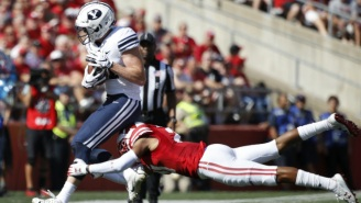 BYU Beat Wisconsin To Become The First Unranked Team To Knock Off A Top-10 Squad This Season