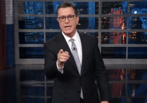 Stephen Colbert Addressed Brett Kavanaugh In A Heated Monologue: 'Save Your Indignation'