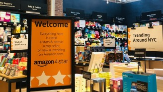 Amazon's New Store In NYC Only Sells Four Star Products
