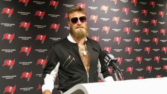 Ryan Fitzpatrick Put On DeSean Jackson's Clothes And Looked Like Conor McGregor