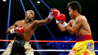 Floyd Mayweather Claims A Second Fight With Manny Pacquiao Is On The Horizon