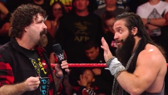 Mick Foley Tweeted A Major Endorsement Of Elias After Their Raw Confrontation