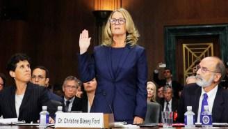 Fox News' Chris Wallace Warns Republicans Not To 'Disregard' Christine Blasey Ford's Kavanaugh Testimony