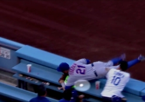 Todd Frazier Stole An Out Away From The Dodgers By Using A Fake Baseball