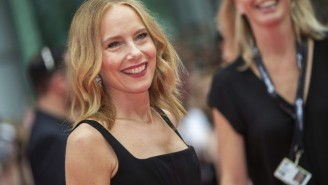 A Delightful Chat With Amy Ryan About Starring Alongside Steve Carell And Timothée Chalamet In 'Beautiful Boy'