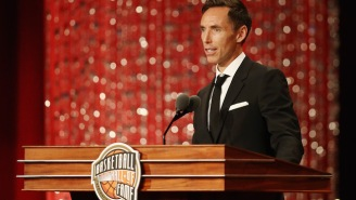 Steve Nash Delivered An Uplifting Message For Today's Youth During His Basketball Hall Of Fame Speech