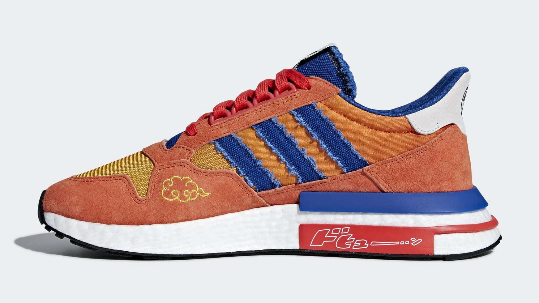 6adcb907 The Dragon Ball Z Adidas Collection Is Starting To Arrive This Month