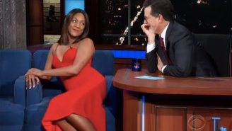 Tiffany Haddish Tells Stephen Colbert Why She Believes That 'Batteries Are A Girl's Best Friend'