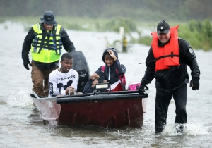Hurricane Florence's Landfall Has Prompted Hundreds Of Rescues While Flooding North Carolina Towns