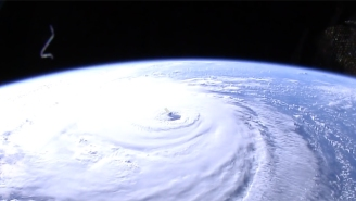 NASA Has Released Incredible Footage Of Hurricane Florence, Which Is Being Described As A 'Mike Tyson Punch' Of A Storm