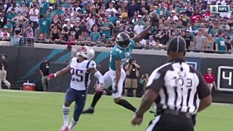 Keelan Cole May Have Made The Catch Of The Year Against The Patriots