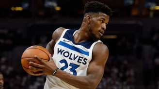 The Timberwolves Reportedly Reached Out To The Rockets About A Potential Jimmy Butler Deal