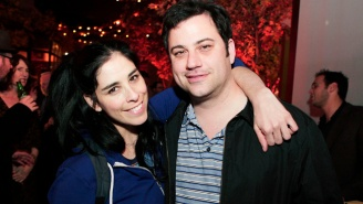 Jimmy Kimmel And Sarah Silverman Traded Comedic Barbs While Reflecting On Their Past Relationship