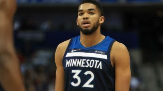Karl-Anthony Towns Is 'Blessed To Be Alive' After Getting Hit By A Semi-Truck