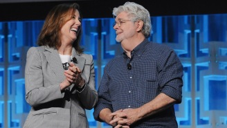 'Star Wars' Chief Kathleen Kennedy Will Remain Lucasfilm President For Years To Come