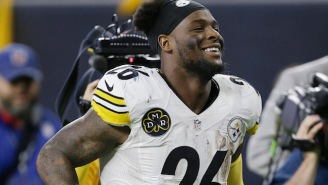 Le'Veon Bell Has Joined Team Jordan For Whenever He Returns To The Steelers