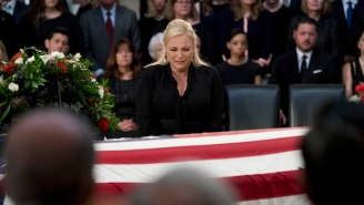 Meghan McCain Slipped A Couple Of Trump Disses Into Her Tearful Eulogy For John McCain
