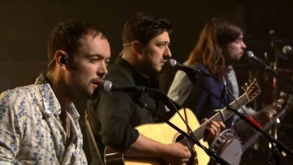 Mumford & Sons Visit 'Fallon' And Perform 'Guiding Light,' The First Single From Their New Album