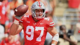 Ohio State Star DE Nick Bosa Is Out Indefinitely After Surgery To Repair A Core Muscle