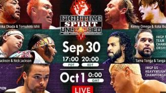 NJPW Fighting Spirit Unleashed Results