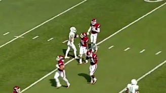 North Texas Faked A Fair Catch And Returned A Punt For A Touchdown Against Arkansas