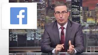 John Oliver Explains All The Ways That Facebook Is A 'Toilet' On 'Last Week Tonight'