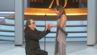 Glenn Weiss' Surprise Proposal At The Emmys Could Melt The Hardest Of Hearts