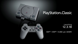 Sony Is Launching A PlayStation Classic Preloaded With 20 PS1 Games